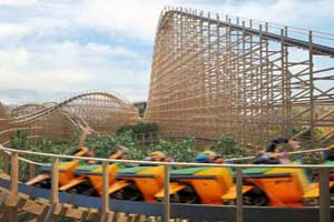 """Tayto Park Rollercoaster"""