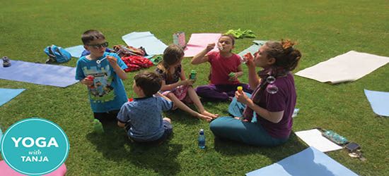 """Yoga with Tanja - Yoga Classes for Kids"""