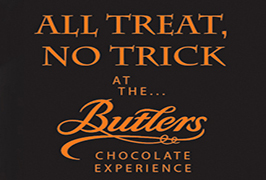 """Halloween treat, no trick at the Butlers Chocolate Experience"""