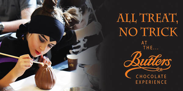 """Halloween at Butlers Chocolate Experience"""