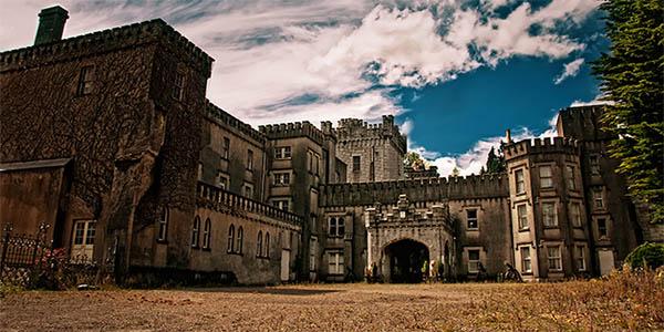 """Glenart Castle at Halloween"""