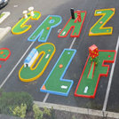 """Crazy Mini Golf For Hire"""