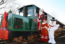 """Santa Express at Waterford & Suir Valley Railway"""