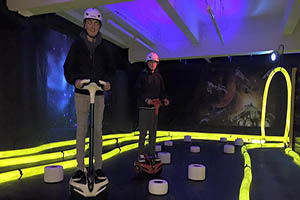 """Zway Experience Indoor Galaxy Theme Glide Center"""