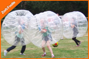 """Zorb Football in Westport Wargames"""