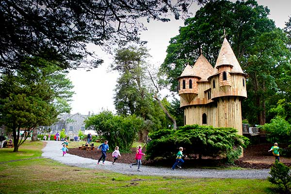 """Treehouse Adventure Area at Birr Castle Gardens"""