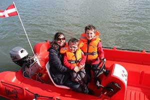"""Cork Harbour Boat Hire Family Tours"""