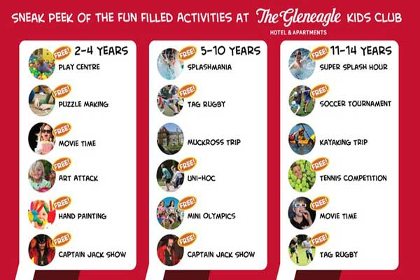 """The Gleneagle Hotel Kids Club"""
