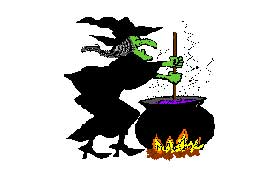 """Witch's Cauldron Halloween Game"""