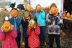 """Halloween Event at Wooly Ward's Farm"""