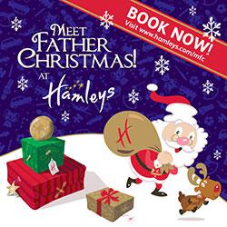 """Meet Father Christmas at Hamleys"""