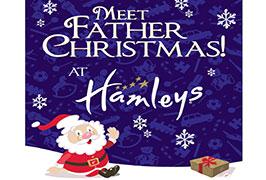 """""""Father Christmas at Hamleys"""""""