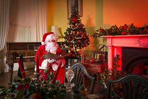 """Santa at Ardgillan Castle"""