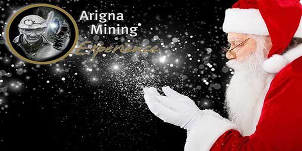 """Santa At Arigna Mining Experience"""