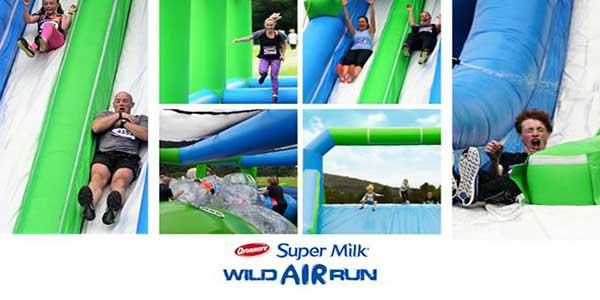 """Super Milk Wild Air Run Dublin and Cork"""