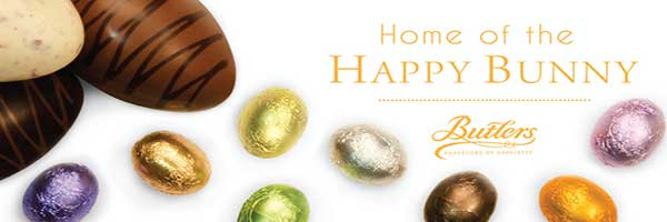 Easter Experience at Butlers Chocolate