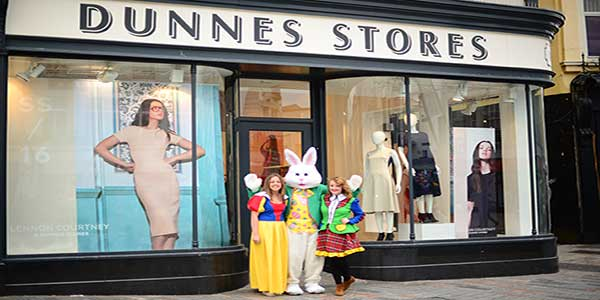 """Easter Bunny in Dunnes Stores Cork"""
