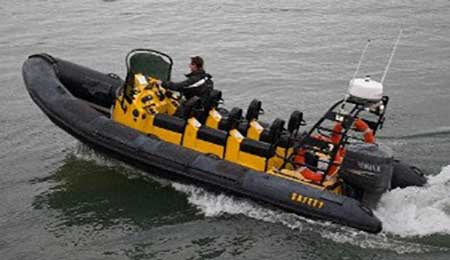 """Cork Harbour Boat Hire High Speed Boats"""