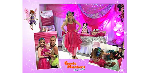 """Genie Mackers Kids Party Entertainers"""