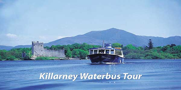 """Killarney Lake Water Bus Experience Tour"""