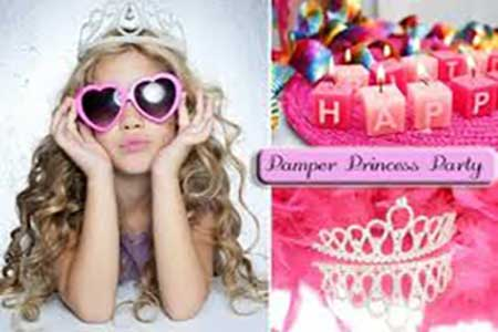 """Pamper Parlour Princess Parties"""