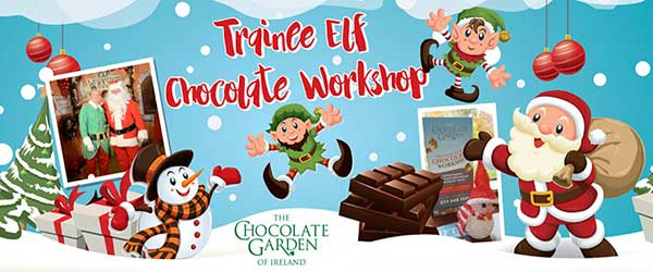 """Christmas Elf Chocolate Workshop"""