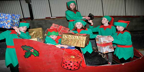 """Moher Hill Farm Christmas Village"""