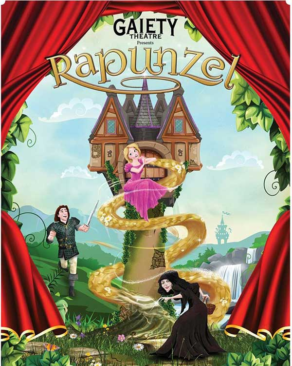 """The Gaiety Theatre's Christmas pantomime Rapunzel Pantomime"""