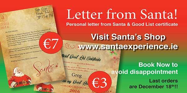 """""""Letter From Santa"""""""