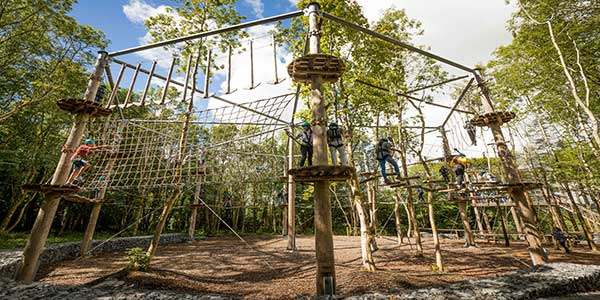 """The Castlecomer Discovery Octagon High Ropes Course"""