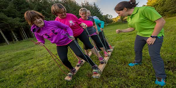 """Team Building Activities At The Castlecomer Discovery Park"""