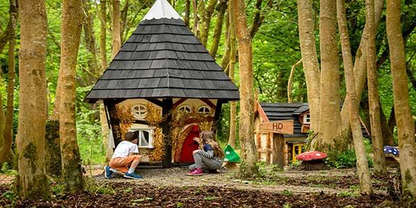 """Castlecomer Discovery Park Elf Village"""