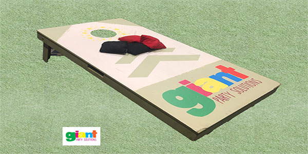 """Bean Bag Toss Game Hire"""