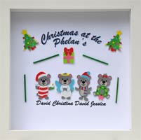 """""""Christmas Teddy Bears"""""""