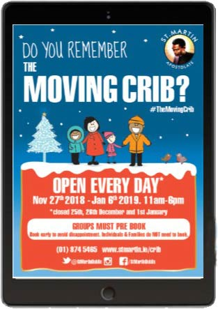 """Moving Live Crib in Dublin"""