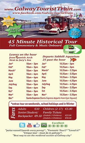 """Galway Tourist Train Tours"""