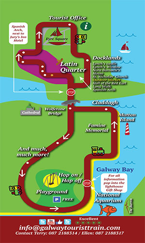 """""""Galway City Tourist Train Tours"""""""