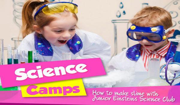 """""""Junior Einsteins Science Club Kids Camps"""""""