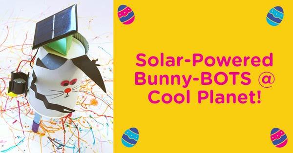"""Cool Planet Experience Easter Bunny"""