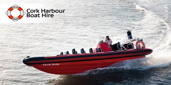 """Cork Harbour Boat Hire Trill Ride"""