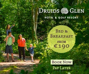"""Druids Glen Summer Family Break"""