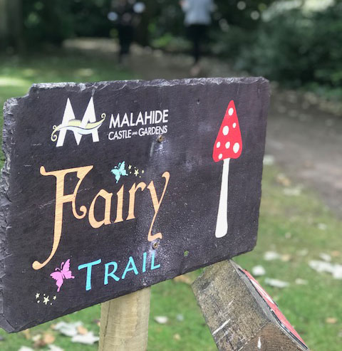 """Malahide Castle and Gardens Fairy Trail"""