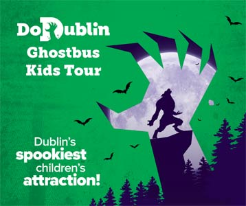 """""""Dublin Bus Ghostbus Tours"""""""