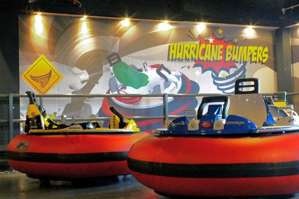 """Hurricane Bumpers at Bray Bowl"""
