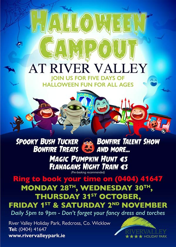 """Halloween at Rivervalley Holiday Park Wicklow"""