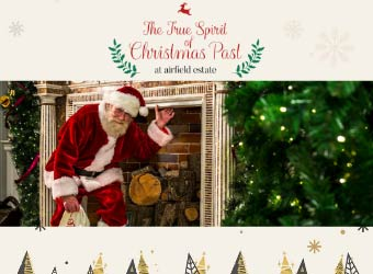 """Airfield Estate Dundrum Santa"""