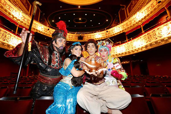 """Aladdin The Gaiety Theatre Christmas Panto"""