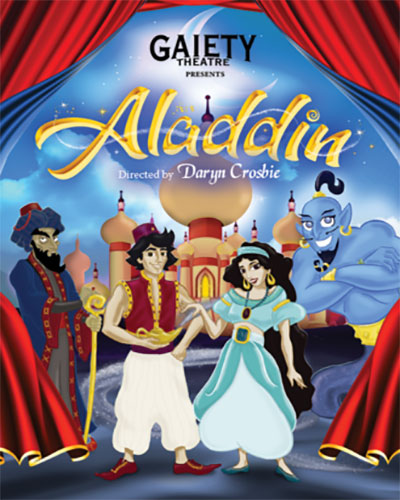 """Aladdin Christmas Pantomime Gaiety Theatre"""