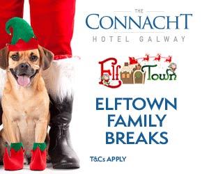"Connacht Hotel Elftown Family Breaks"""