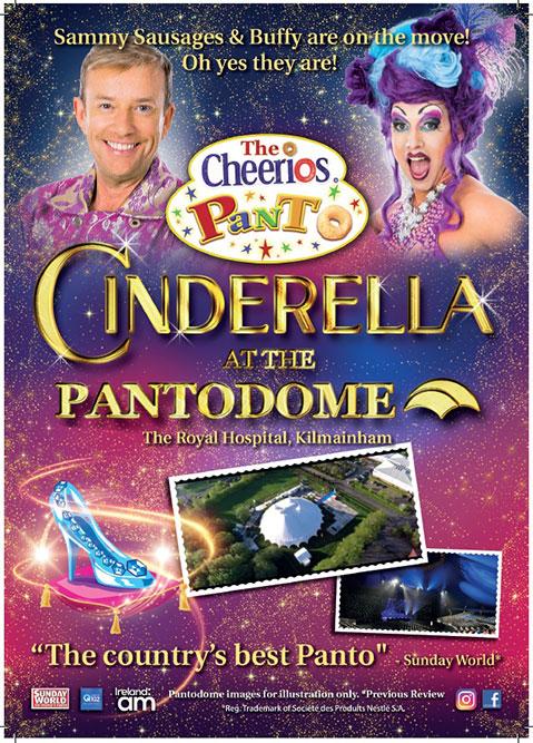 """The Cheerios Panto Cinderella"""